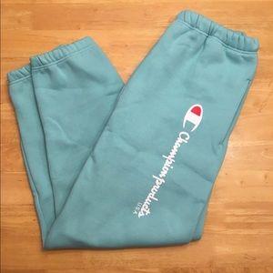 Champion x Supreme Sweatpants Mint - Large
